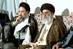 Visitation of President Khatami with Supreme Leader of Iran, Ali Khamenei - August 27, 2001.jpg