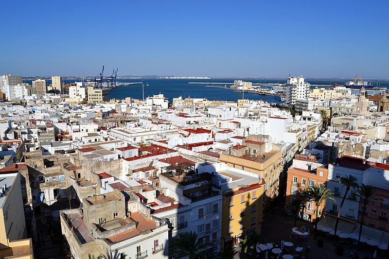 Pontos turísticos de Cádiz
