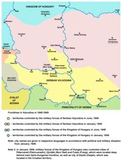 Vojvodina front lines 1848 1849.png