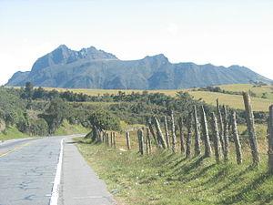 Cerro Bravo - Image: Volcan Cerro Bravo Tolima Colombia
