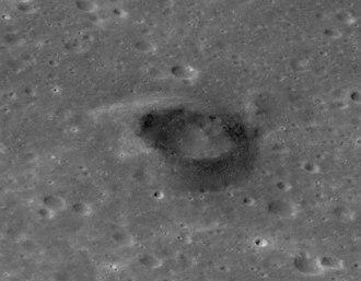 Mare Nubium - Volcanic feature in Mare Nubium