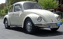 1980 volkswagen 1200l  produced in mexico for europe  front view