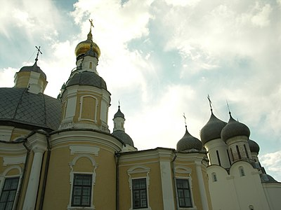 Orthodox churches in Vologda, Russia Vologda Churches.jpg