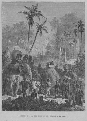 Khemarat District - The French Mekong Expedition of 1866–68 in Mueang Khemarat