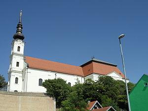 Church of Saints Philip and James, Vukovar - Image: Vukovar samostan i crkva sv Filipa i Jakova