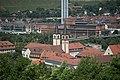 Würzburg, Don Bosco Kirche, Ansicht von der Festung Marienberg 20170624 001.jpg