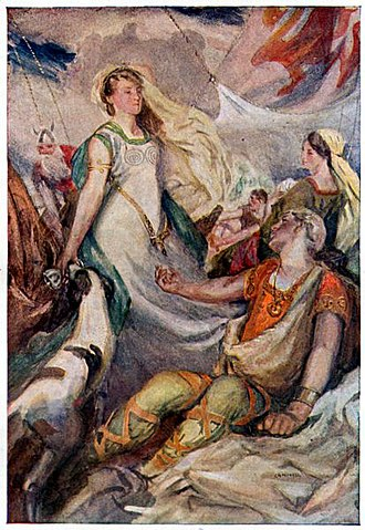 Tristan and Iseult - Image: W. Otway Cannell 7 Tristan and Isolde