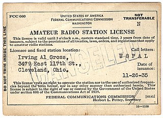 Amateur radio licensing in the United States