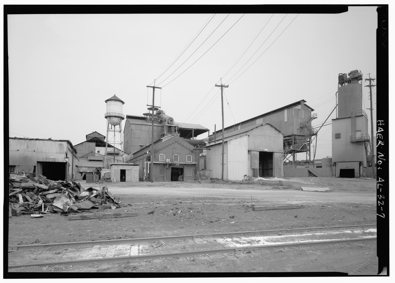 Bessemer (AL) United States  city images : WATER TOWER LOOKING NORTHEAST. United States Pipe and Foundry ...