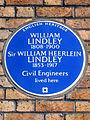 WILLIAM LINDLEY 1808-1900 Sir WILLIAM HEERLEIN LINDLEY 1853-1917 Civil Engineers lived here.jpg