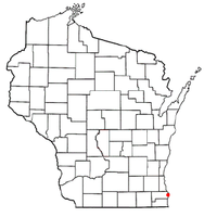 Location of North Bay, Wisconsin