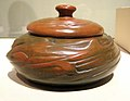 WLA lacma Redlands Pottery Covered Bowl ca 1904-1909.jpg