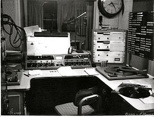 WPCI - WMRB Studio 1969 - Calhoun Towers.