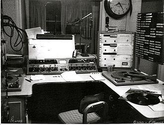 WPCI - WMRB Studio 1969 - Calhoun Towers.