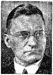 Newspaper photo of Adolf Grimme