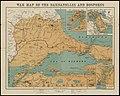 W & A K Johnston's war map of the Dardanelles & Bosporus (5008041).jpg