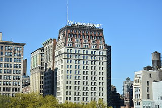 W Hotel In Union Square New York City Jpg