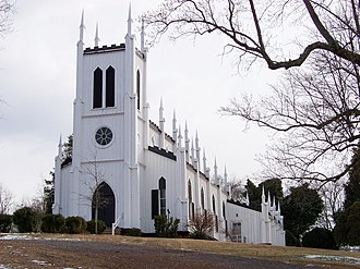Rapidan, Virginia - Image: Waddell Memorial Presbyterian Church in Rapidan, Virginia