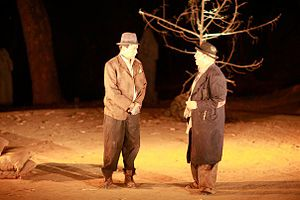 Waiting for Godot - Vladimir and Estragon (June 2010 production of the play at The Doon School, India)
