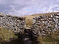 Wall, Pen-y-ghent Side - geograph.org.uk - 762505.jpg