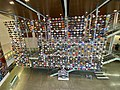 Wall of helmets at College Football Hall of Fame.jpg