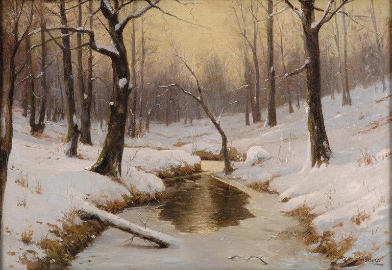 File:Walter Moras - Winterliche Flusslandschaft.jpg