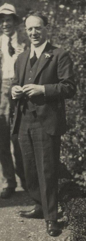 Walter de la Mare - Walter de la Mare in 1924  (photo by Lady Ottoline Morrell)