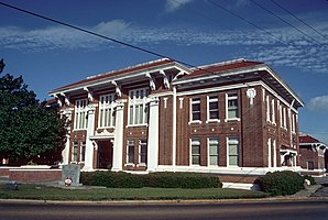 Walthall County Courthouse, gelistet im NRHP Nr. 94001302[1]