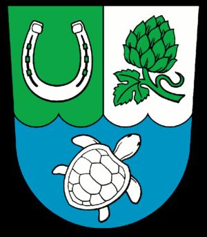 Hoppegarten - Image: Wappen Hoppegarten