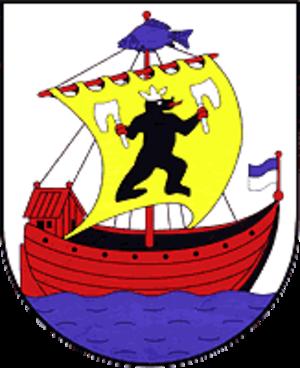 Roßlau - Image: Wappen Rosslau (Elbe)