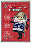 Washington's Coffee ad from the New York Tribune, June 22, 1919