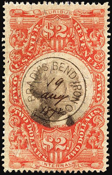 Revenue Stamps Of The United States