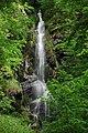 Wasserfall Plästerlegge im Hochsauerlandkreis im Naturschutzgebiet Plästerlegge bei Wasserfall (zu Bestwig).JPG