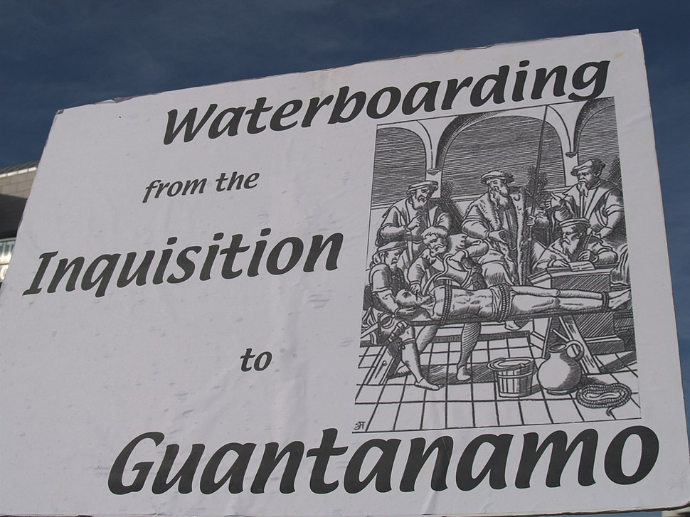 Waterboarding From The Inquisition To Guantanamo