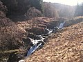 Waterfalls on the Caldons Burn, Galloway Forest Park - geograph.org.uk - 409087.jpg