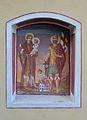 Wayside shrine Augstenweg, Koglhof 05 - Saints Florian and Anthony.jpg