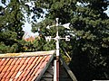 Weather vane at Worsted Lodge - geograph.org.uk - 999339.jpg