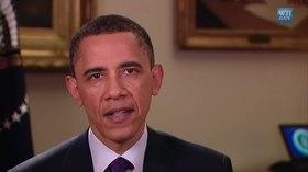 U.S. President Barack Obama addressing the nation about the U.S. intervention in Libya (26 March 2011)
