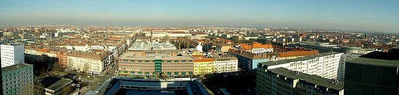 Panorama over Prenzlauer Berg