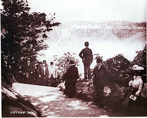 Thomas Vincent Welch - Thomas Vincent Welch and President William McKinley at Niagara Falls on Sept.6, 1901. Roughly 4 hours later McKinley was assassinated.