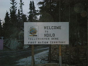 N'Dilo - Image: Welcome to N'Dilo