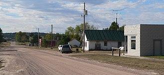 Wellfleet, Nebraska - Downtown Wellfleet