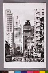 Vista parcial da Avenida São João. São Paulo/Sp
