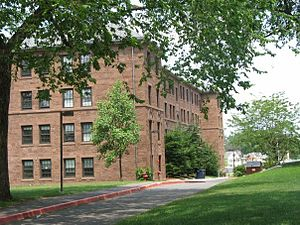 Wesleyan University - Clark Hall, a freshman dormitory built in 1916 and renovated in 2002.