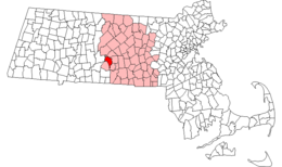 West Brookfield – Mappa