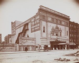 West End Theatre (Manhattan) -  West End Theatre, 1903