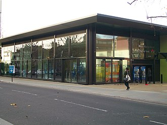 Midland Main Line - New station building at West Hampstead Thameslink