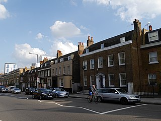 West Hill, Wandsworth road in Wandsworth, London, England