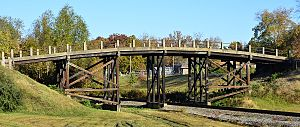 Redfield, Arkansas - West James Street Overpass – Listed on NRHP May 18, 1995.