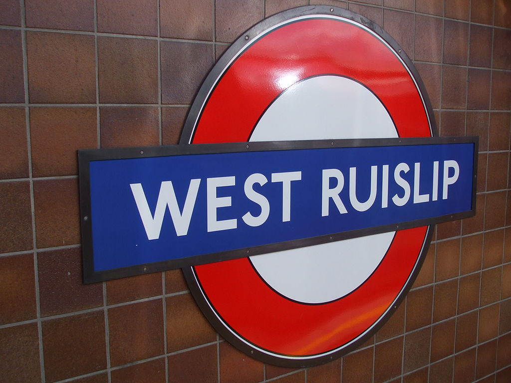 West Ruislip Station Car Park Postcode